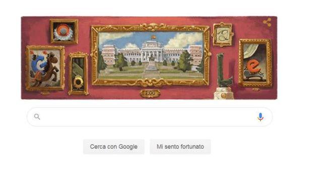 Museo del Prado, il doodle di Google