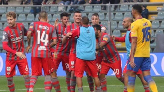 Ciofani ha segnato il primo gol stagionale con la Salernitana