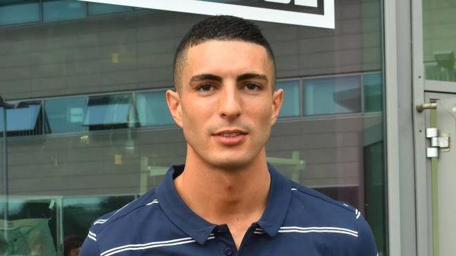 Reggiana, il secondo portiere Matteo Voltolini è stato sospeso (Foto Artioli)
