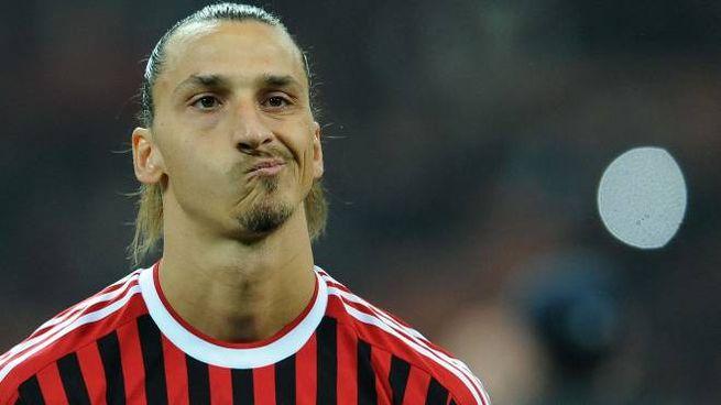 Zlatan Ibrahimovic ai tempi della sua prima esperienza con la maglia del Milan (Alive)