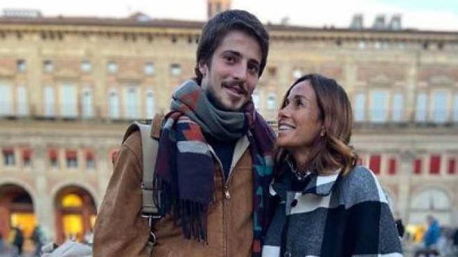 Cristina Parodi con il figlio a Bologna (da Instagram)