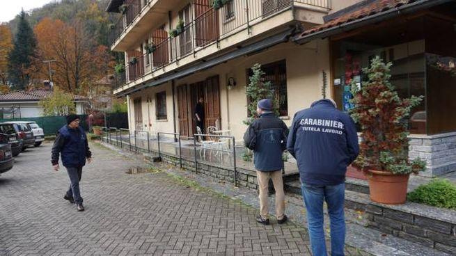 I carabinieri al lavoro