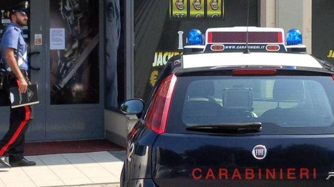 I carabinieri il giorno della rapina all'Empire di Cernusco Lombardone