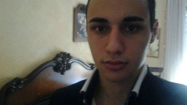 La guardia giurata Flavio La Manna, 26 anni
