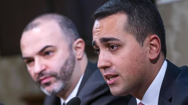 Luigi Di Maio e Massimo Bugani: la loro linea è stata sconfessata dal voto degli iscritti