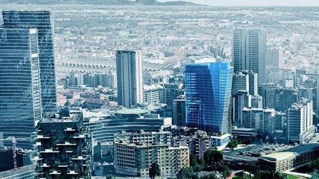 Il nuovo skyline di Milano Porta Nuova