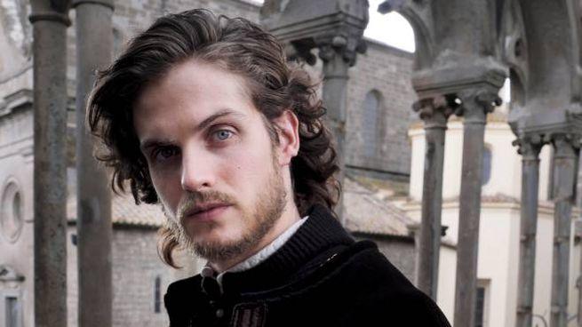 L'attore britannico Daniel Sharman, 33 anni, nei panni di Lorenzo de' Medici