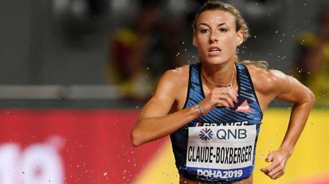 La mezzofondista francese Ophelie Claude-Boxberger (Afp)
