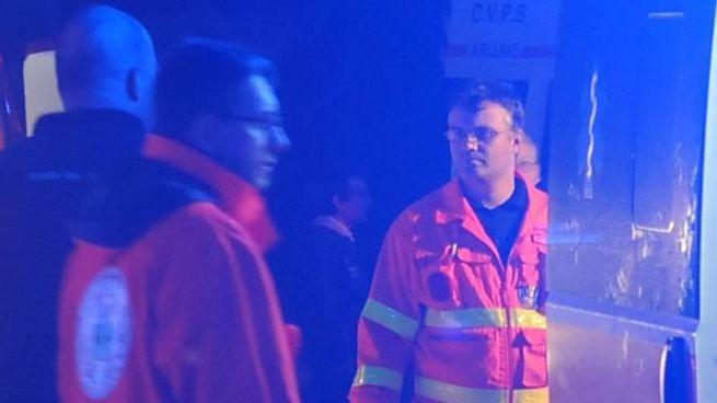 Diverse ambulanze sono intervenute