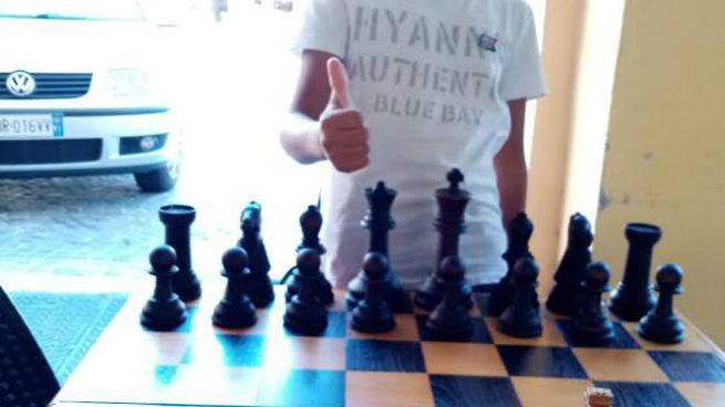 Amin, campione di scacchi a 12 anni