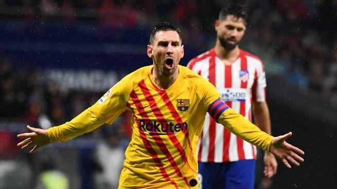 Esultanza Messi