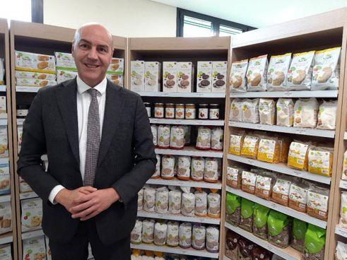 Cesare Roberto, amministratore unico di Sarchio e alcuni prodotti destinati alla grande distribuzione