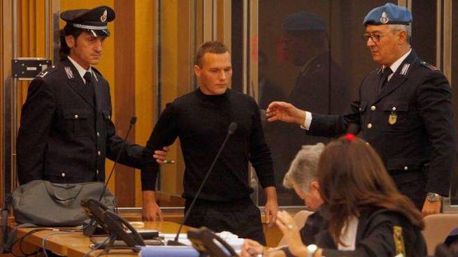 L'imputato Madalin Palade Constantin