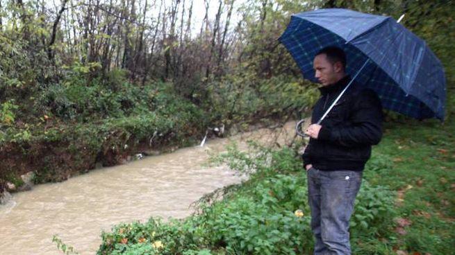 Un corso d'acqua