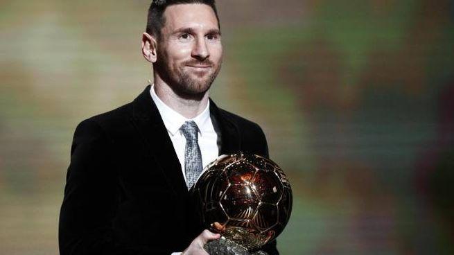 Messi vince il Pallone d'Oro 2019 (Ansa)