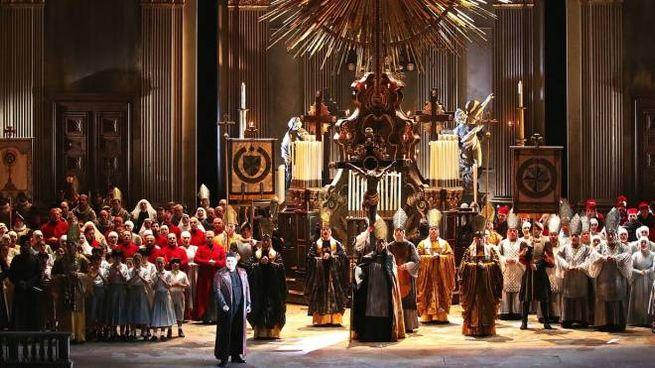Le prove per la Tosca diretta da Riccardo Chailly