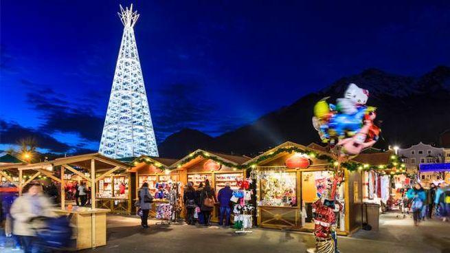 Il mercatino natalizio di Innsbruck in Austria