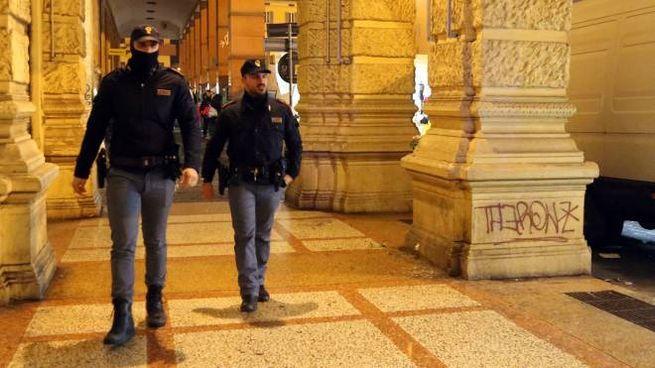 Quando è arrivata la polizia gli aggressori erano già fuggiti via (FotoSchicchi)