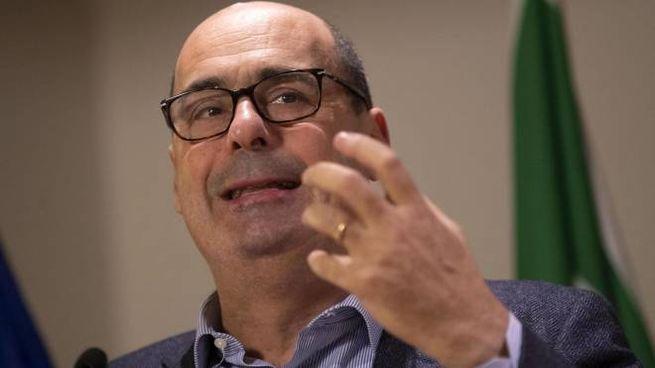 Il segretario del Pd, Nicola Zingaretti (Ansa)