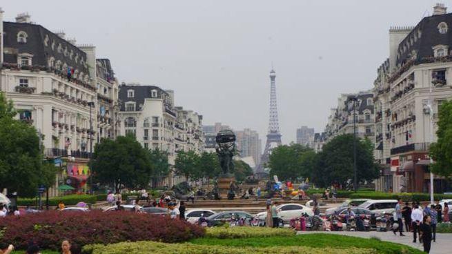Tianducheng, nella città di Hangzhou: copia di Parigi - Foto: CC wikipedia/MNXANL