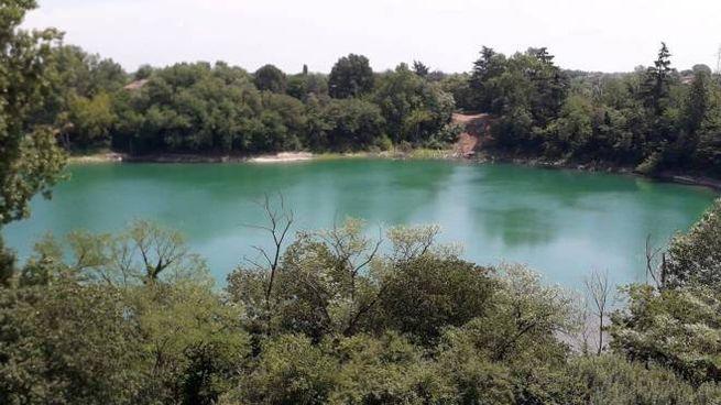 Lo specchio d'acqua all'interno del bel polmone verde  ha un futuro a rischio