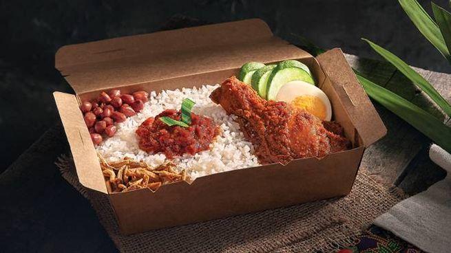 Il cibo da aereo sbarca al ristorante - Foto: santan.com.my