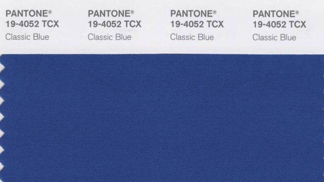 Classic blue, color Pantone 2020 (Ansa)