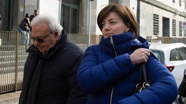 Lara Comi con il suo avvocato Gian Piero Biancolella