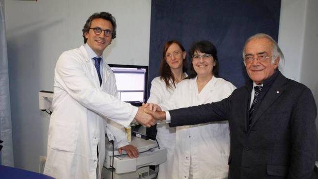 Tumori della pelle, la squadra della Skin Cancer Uniti con Dino Amadori