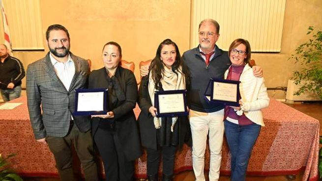 Da sinistra Casamassima, Rosati, Alfano, Anselmi e Cucchi (Acerboni/FotoCastellani)