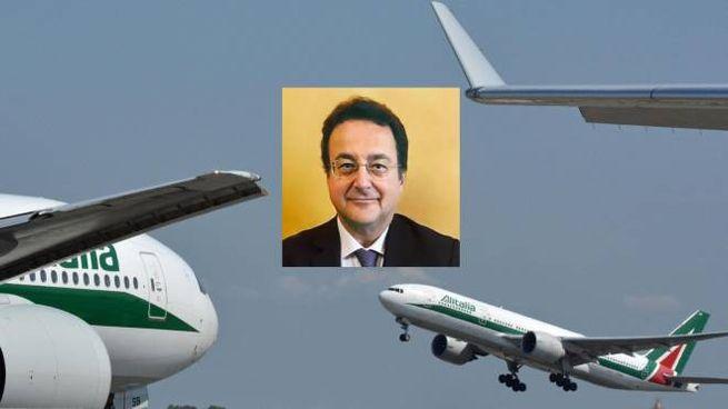 Alitalia, Giuseppe Leogrande super commissario unico (combo)