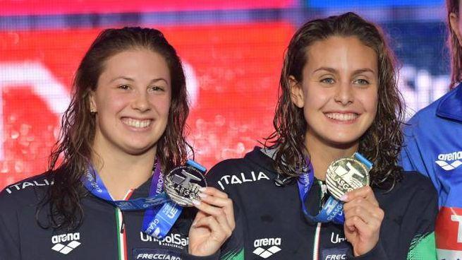 Martina Carraro e Arianna Castiglioni (Lapresse)