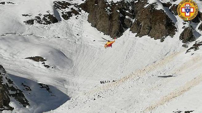 Soccorso alpino in azione