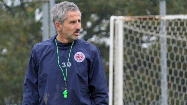 Umberto Marino, allenatore dell'Anconitana (foto Emma)