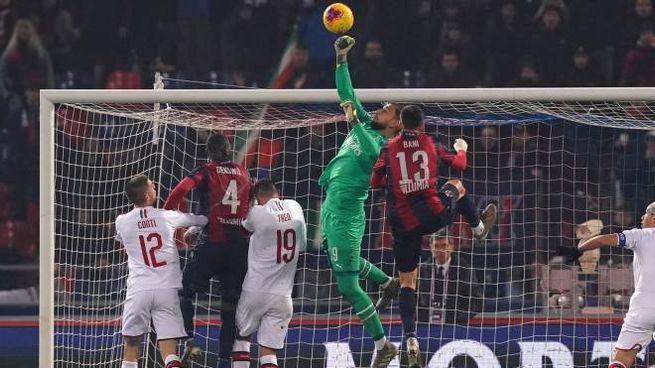 Serie A, Bologna-Milan (Lapresse)