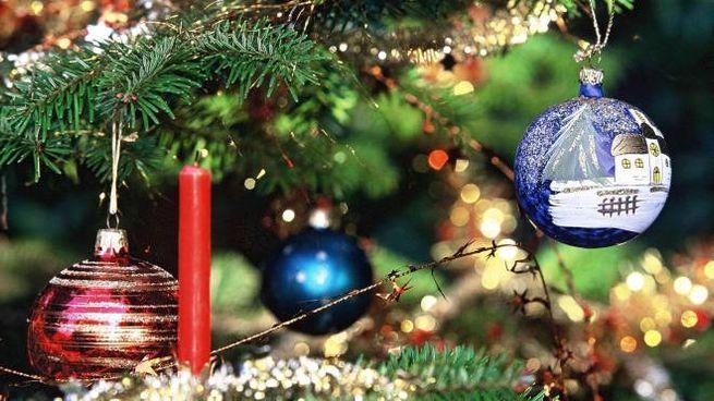 Addobbi natalizi (LaPresse)