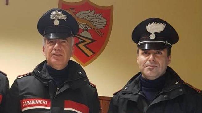 I carabinieri che hanno condotto le operazioni