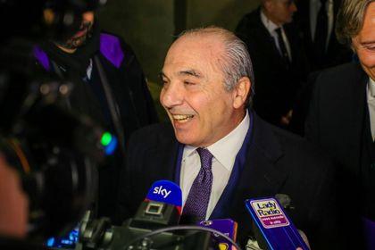 Il presidente viola, Rocco Commisso (Fotocronache Germogli)
