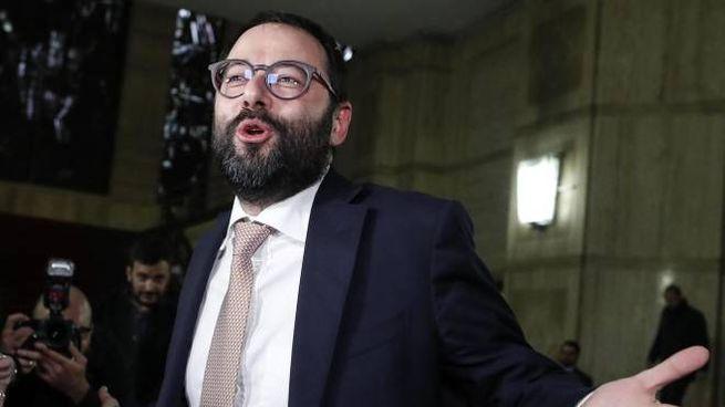 Il ministro dello Sviluppo Economico Stefano Patuanelli (Ansa)