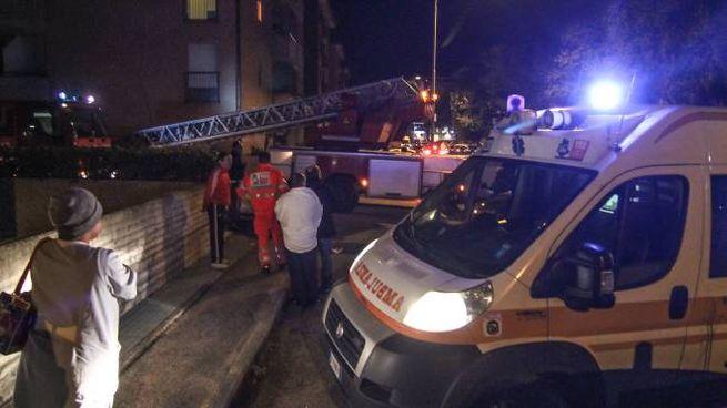 Perugia, incendio in un appartamento