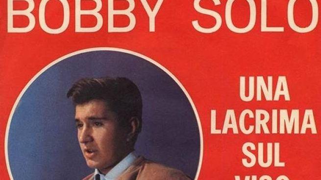Il 45 giri di 'Una lacrima sul viso' di Bobby Solo