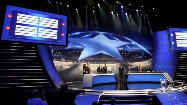 Data e regolamento dei sorteggi di Champions (foto Lapresse)