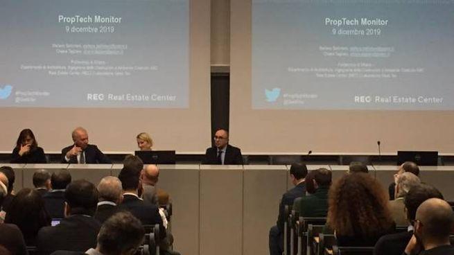 Politecnico di Milano: presentazione JRC PropTech (Foto Facebook)