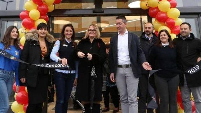 Grande partecipazione per l'inaugurazione del nuovo punto vendita Lidl