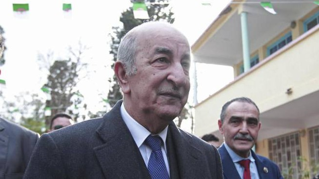 Abdelmadjid Tebboune annuncia vittoria eleazioni Algeria (Ansa)