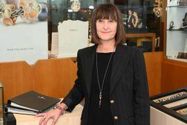 Elena Malavolta, titolare della gioielleria Righi di corso Canalchiaro
