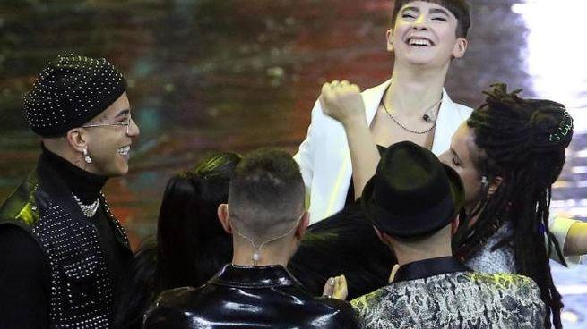 Sofia Tornabene viene proclamata vincitrice del talent musicale X Factor 2019 (Ansa)