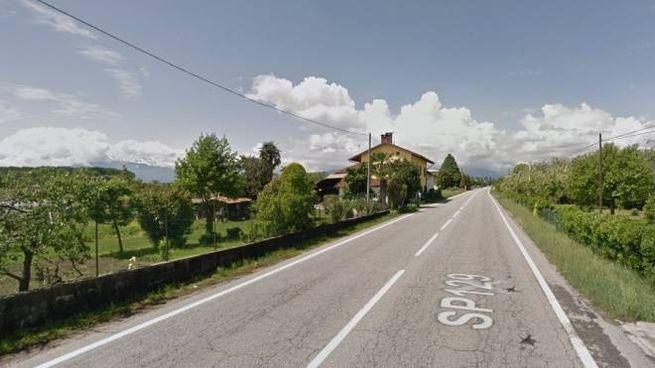 Buriasco, la statale 129 dove è avvenuto l'incidente