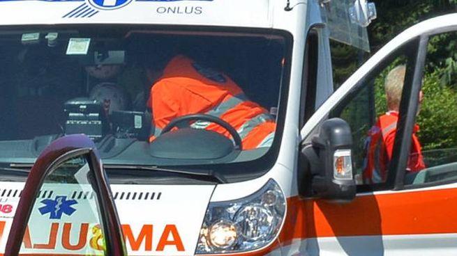 Ambulanza in azione (Cusa)