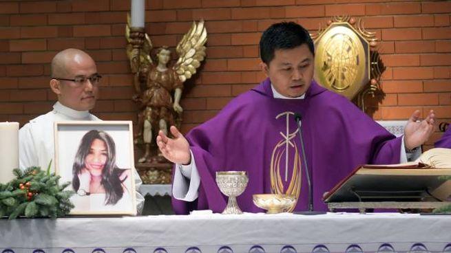 I funerali di Shirley Ortega Calangi (Newpress)